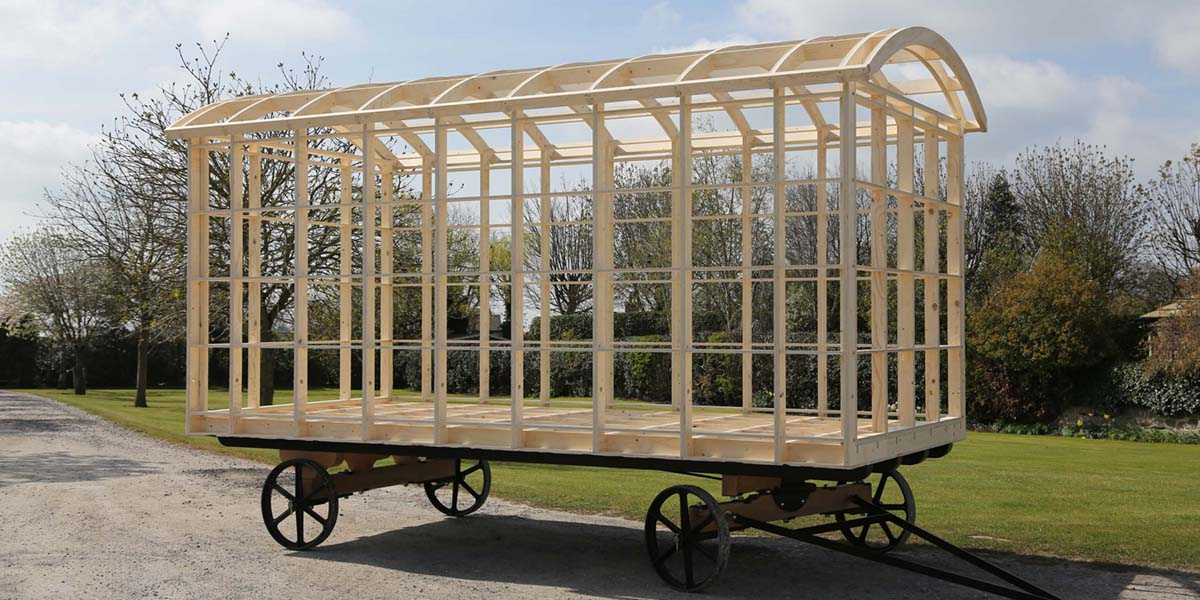 Harrogate Huts frame